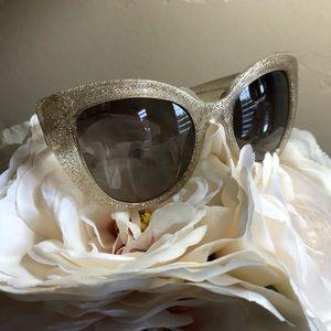 Kate Spade Translucent Glitter Sunglasses